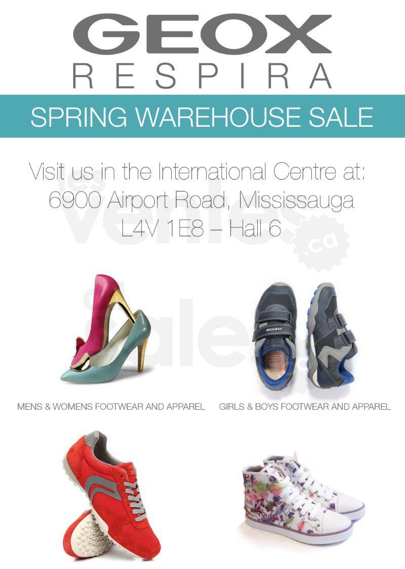 Mississauga : GEOX Warehouse Sale