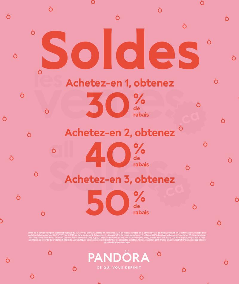 pandora soldes juin 2019