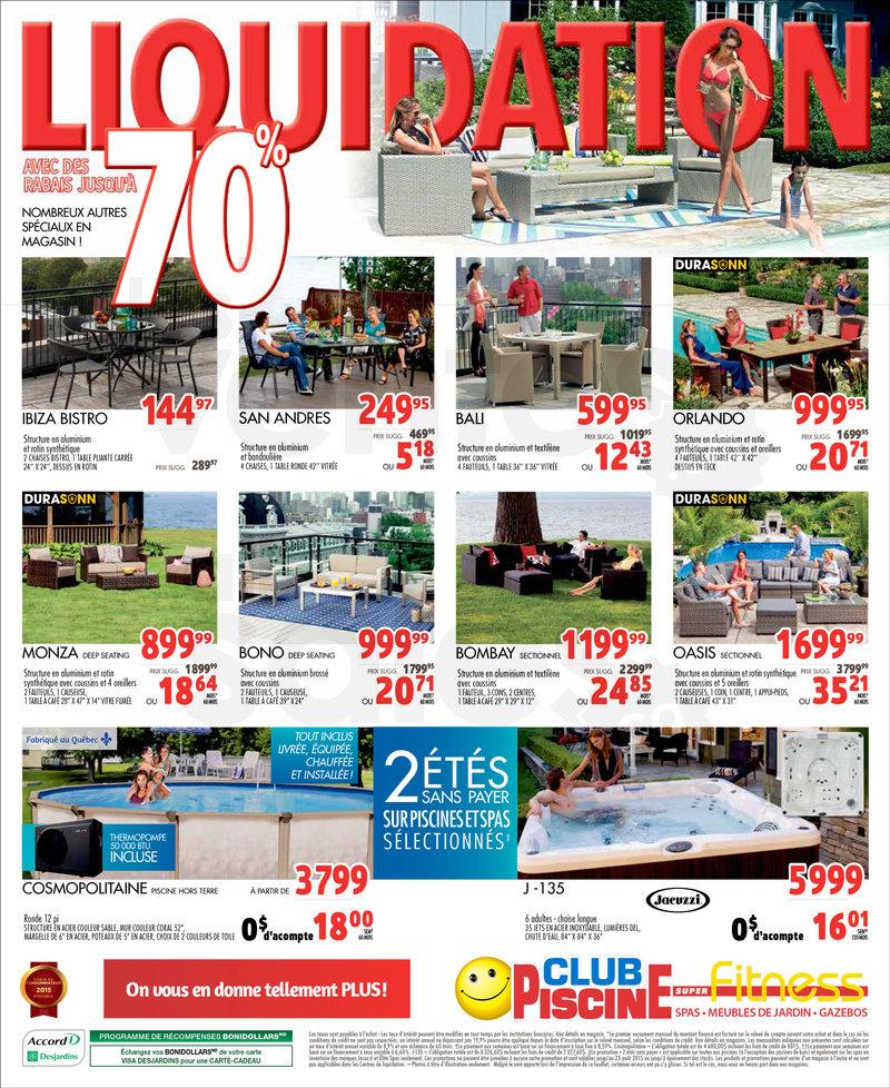 Club Piscine Liquidation 70 De Rabais Lesventes Ca