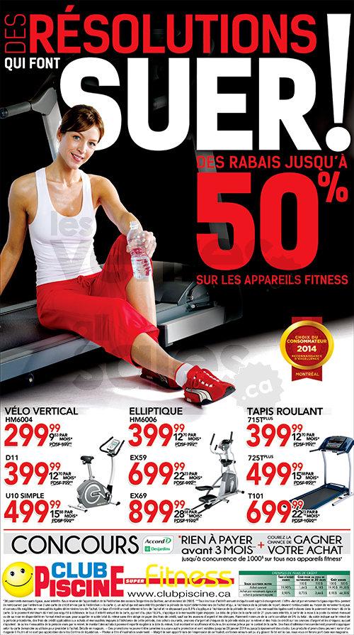 Club Piscine - Jusqu'à 50% sur fitness   lesventes ca