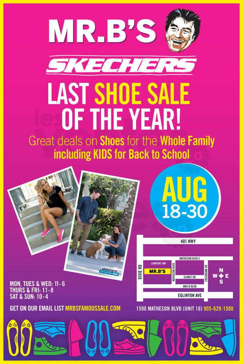Toronto - Skechers warehouse sale